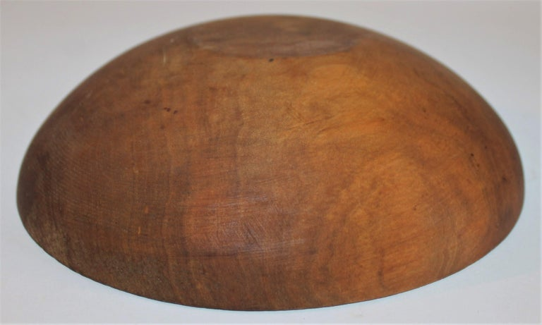 Collection of 19th Century Wooden Bowls For Sale 2
