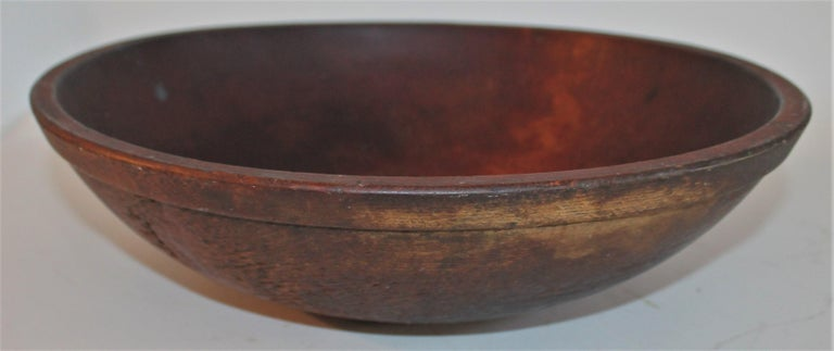 Collection of 19th Century Wooden Bowls For Sale 3