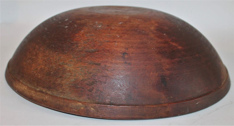 Collection of 19th Century Wooden Bowls For Sale 4
