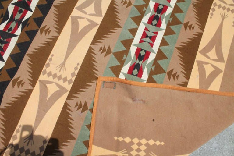 Machine-Made Pendleton Blanket Collection, Group of Four For Sale