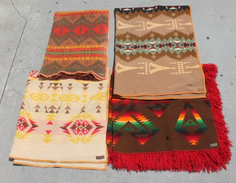 Pendleton Blanket Collection, Group of Four For Sale 8