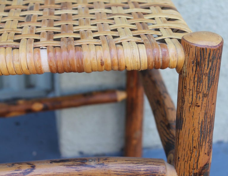 Adirondack Old Hickory Camp Chairs or Set of Six For Sale