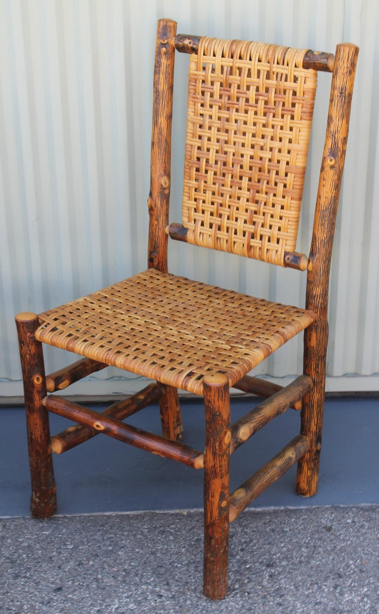 Old Hickory Camp Chairs or Set of Six For Sale 6