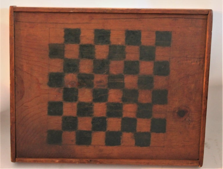 19th Century Original Painted and Signed Gameboard from Pennsylvania In Excellent Condition For Sale In Los Angeles, CA