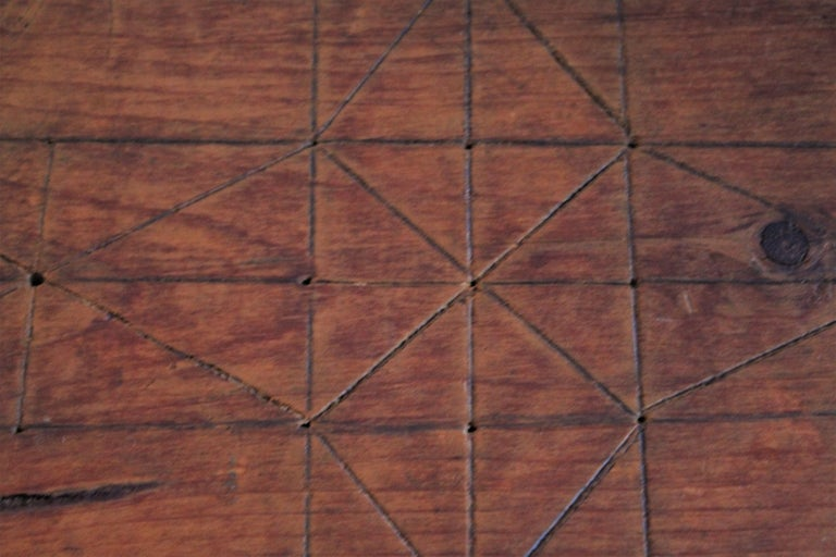 19th Century Original Painted and Signed Gameboard from Pennsylvania For Sale 5
