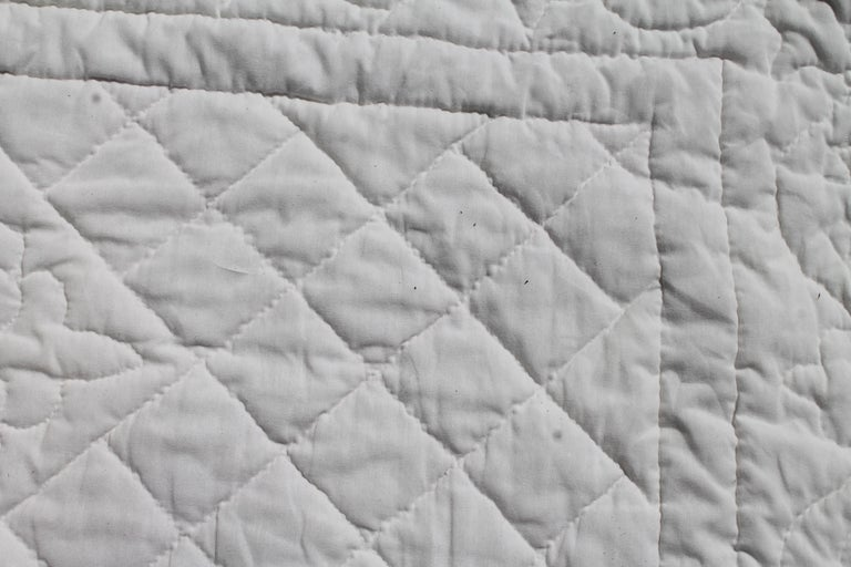Irish Chain Quilt King Size For Sale 1