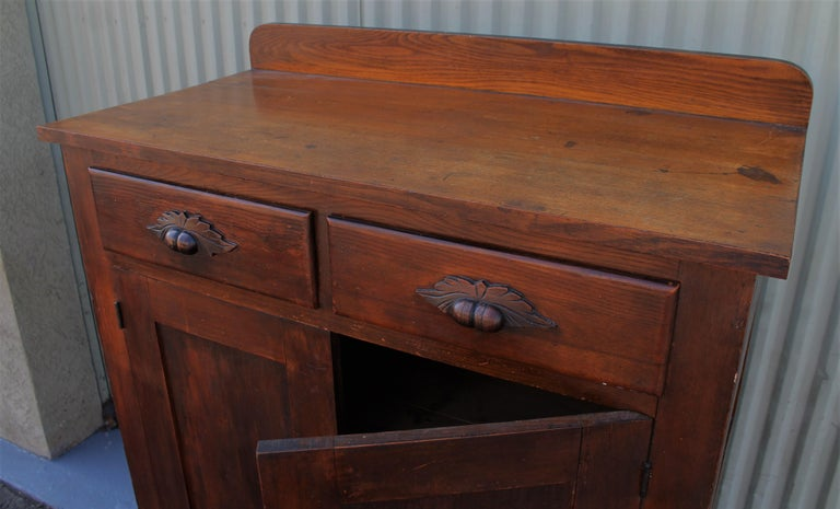 19th Century Antique Pie Safe or Jelly Cupboard Combo For Sale