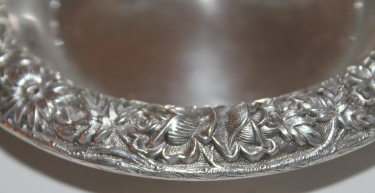 Other Sterling Silver Kirk & Sons Bon Bon Bowl For Sale