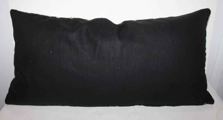 Navajo Geometric Weaving Bolster Pillow At 1stdibs