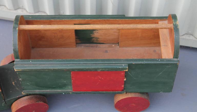 Adirondack Handmade Folky Original Painted Truck For Sale