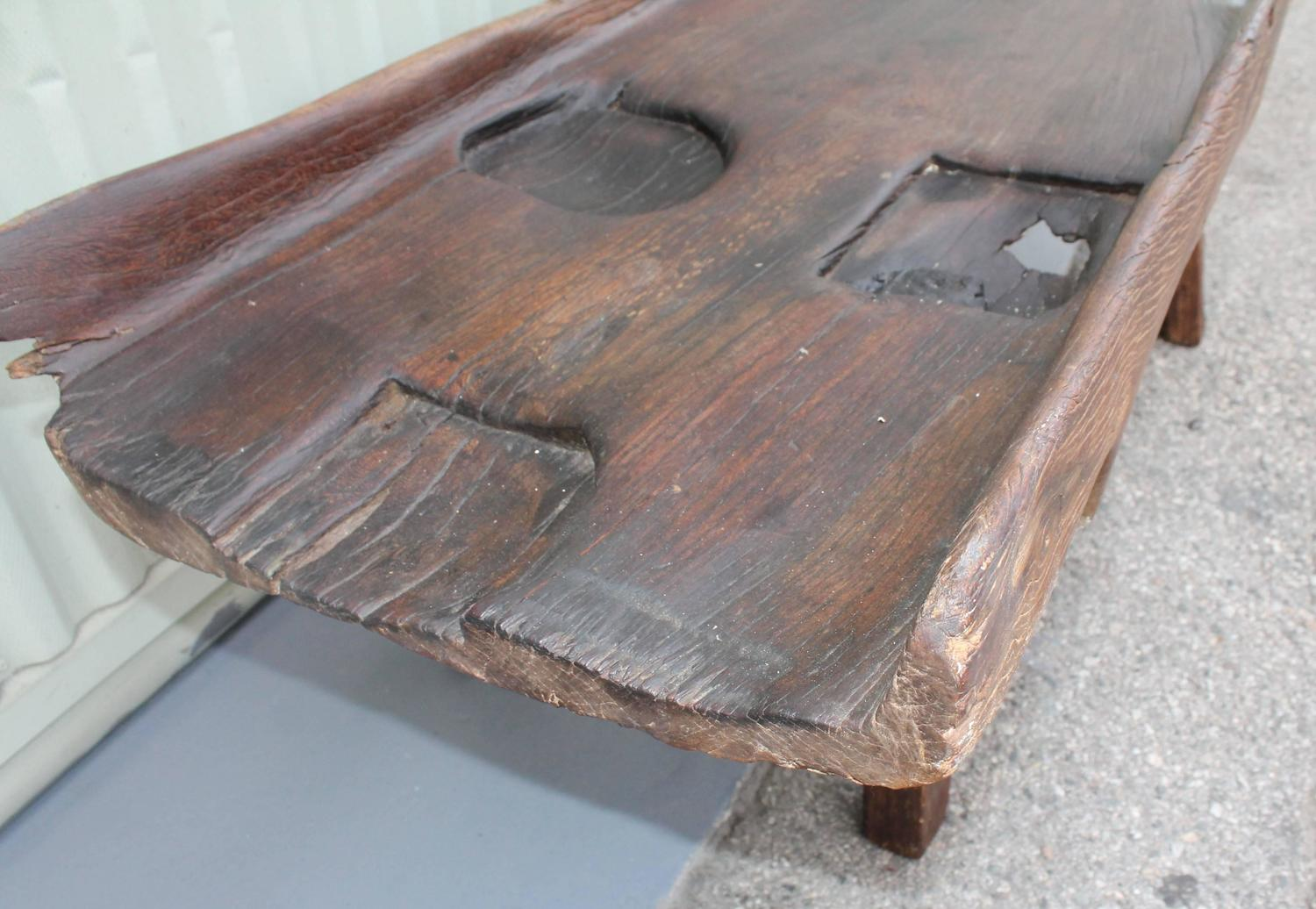 19th century rustic farm sorting table for sale at 1stdibs for Rustic farm tables for sale