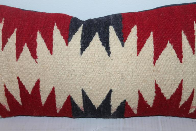 Geometric Navajo Weaving Lumbard Pillow 2