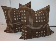 Pair of Horse Blanket Pillows