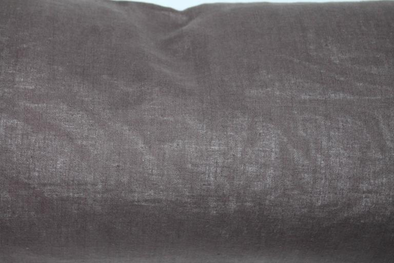 20th Century Navajo Indian Weaving Bolster Pillow For Sale