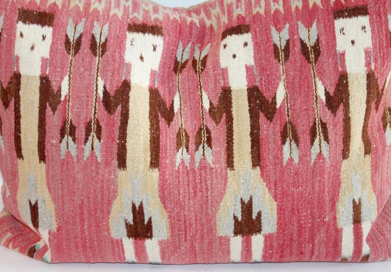 Yei Indian Weaving Bolster Pillow At 1stdibs