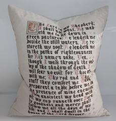Lord's Prayer Sampler Pillow