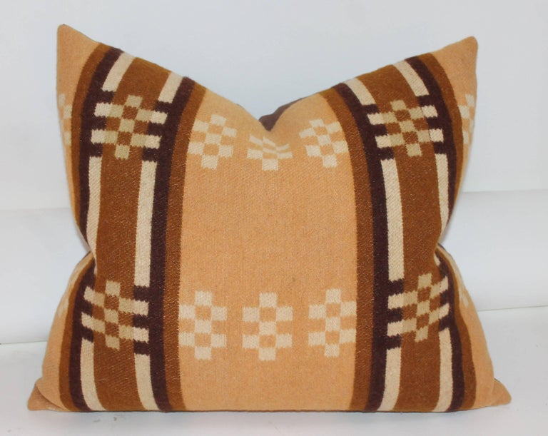 American Collection of Four 19th Century Horse Blanket Pillows For Sale