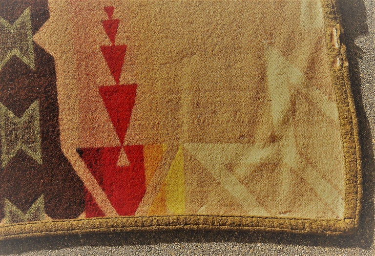 American Pendleton Crib Indian Camp Blanket For Sale
