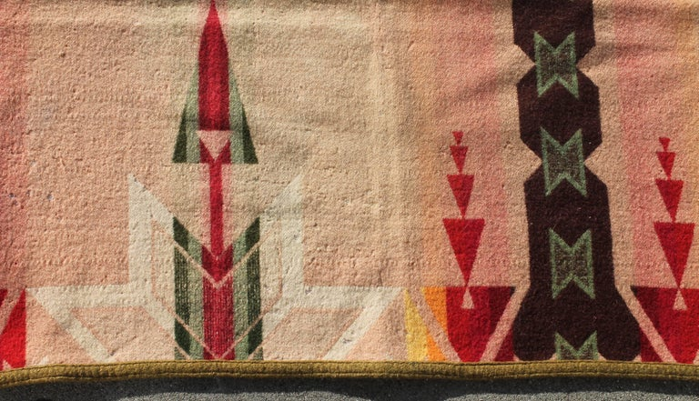 Country Pendleton Crib Indian Camp Blanket For Sale
