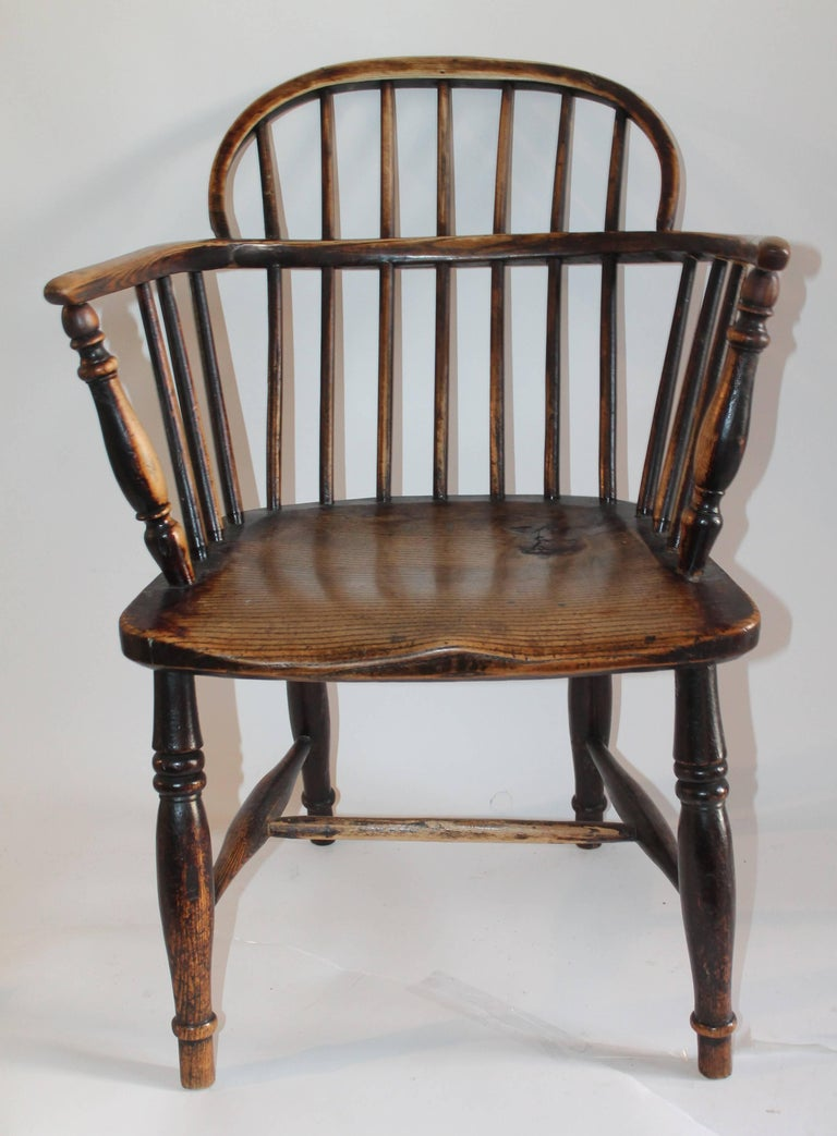 Windsor Chairs, Early 19th Century English Assembled Collection / 4 For Sale 1