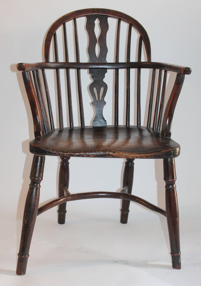 Windsor Chairs, Early 19th Century English Assembled Collection / 4 For Sale 2