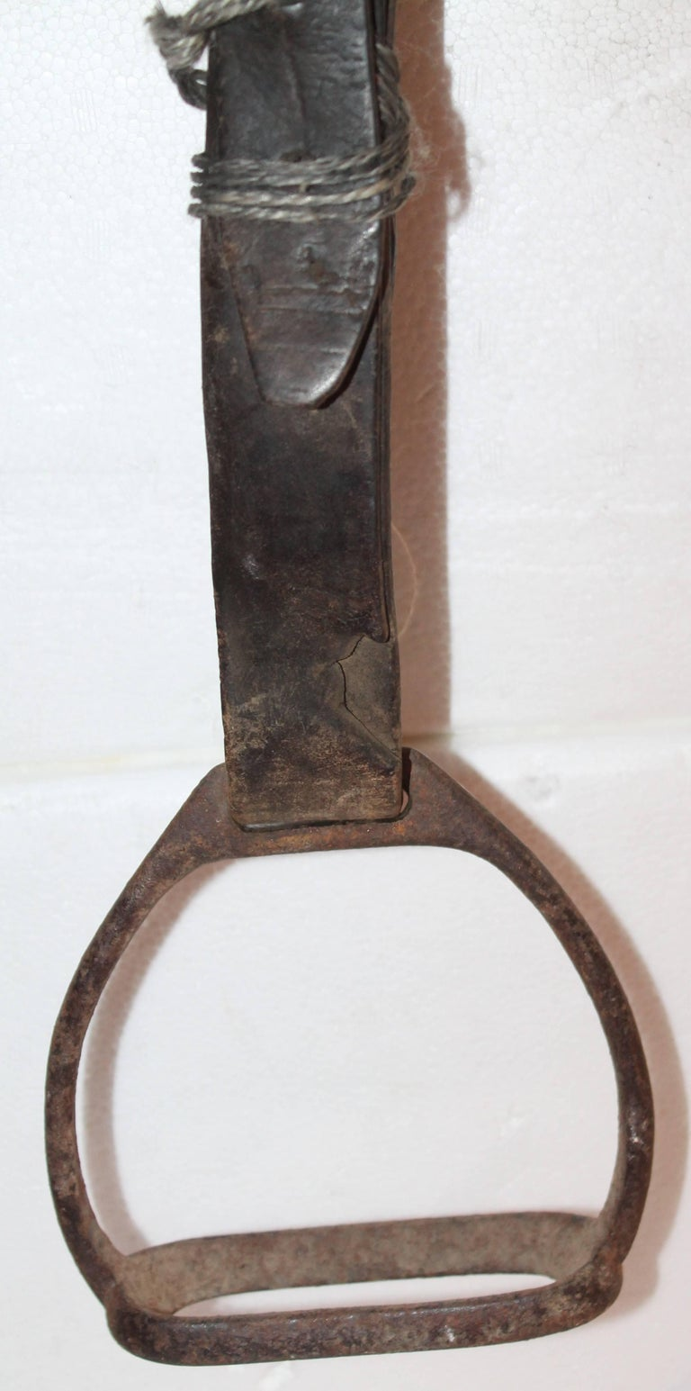 18th Century Handmade Wood Saddle Holder 5