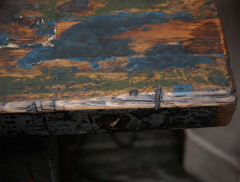 English Painted Work Table, circa 1840 For Sale 5