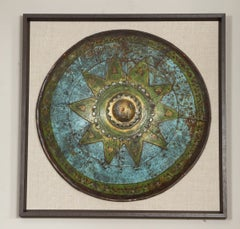 Early 20th Century Single Framed Decorative Shield from London Playhouse