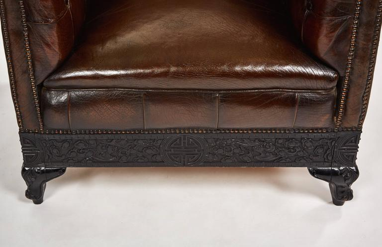Art Nouveau Chesterfield Chairs For Sale