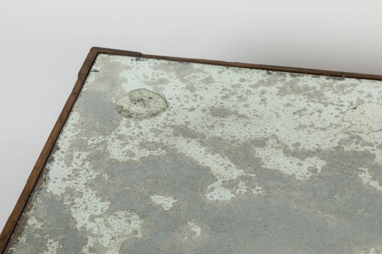 Antique Mirrored and Gold Leafed Cocktail Table For Sale 1