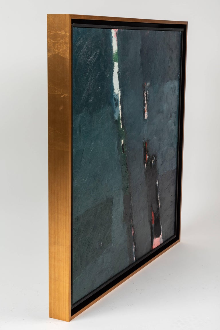 Canvas Framed Modern Abstract Oil Painting by Stevan Kissel For Sale