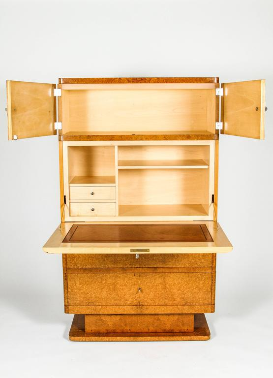 Beautiful french moderne secr taire abattant for sale at - Secretaire moderne ...