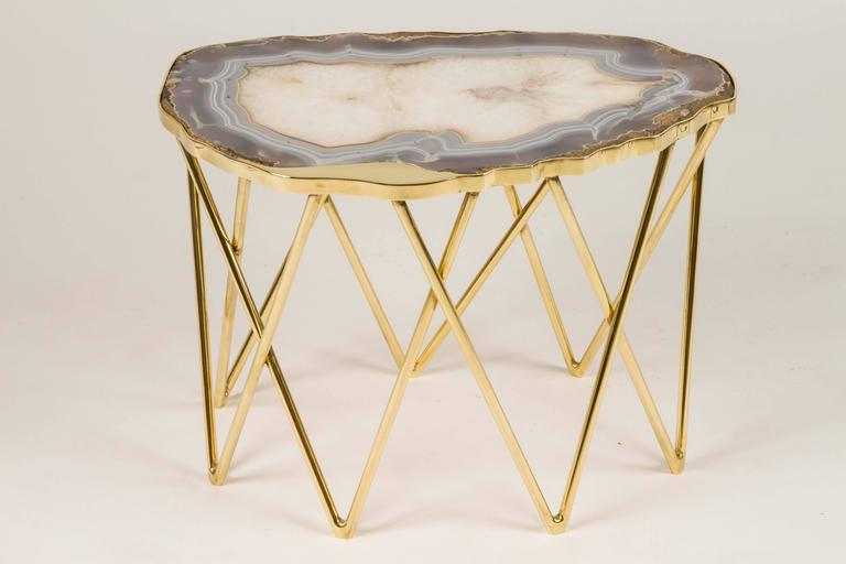"Limited Edition ""Pedra"" Side Table by Dragonette Private Label 6"