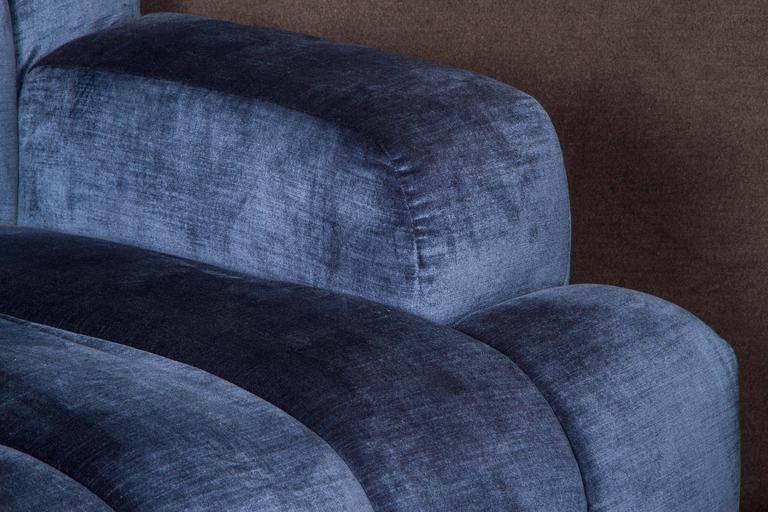 Channel Quilted Sofa and Chair by Steve Chase 3