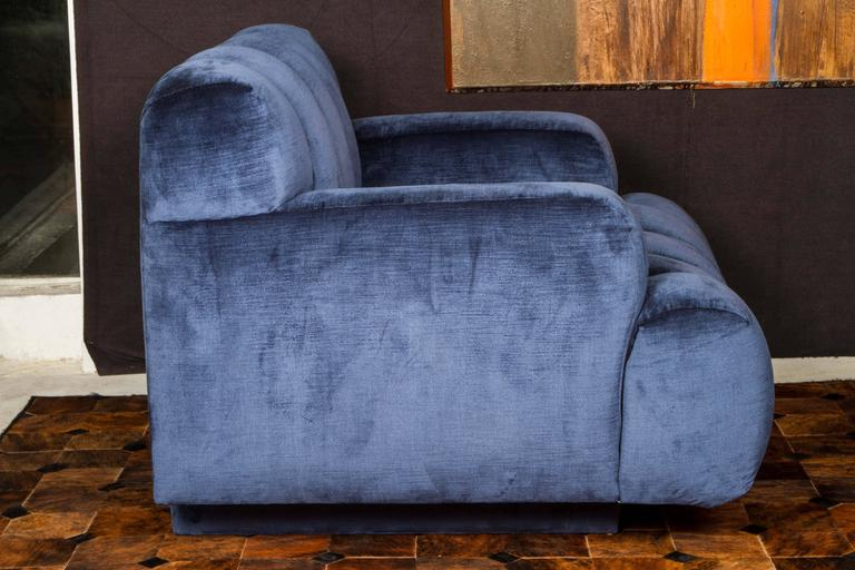 Channel Quilted Sofa and Chair by Steve Chase 2