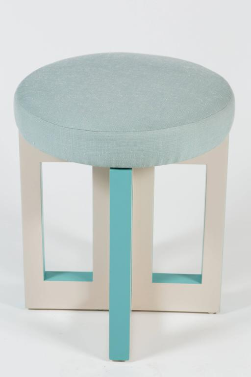 Mid-Century Modern Portola Stool by Dragonette Private Label For Sale