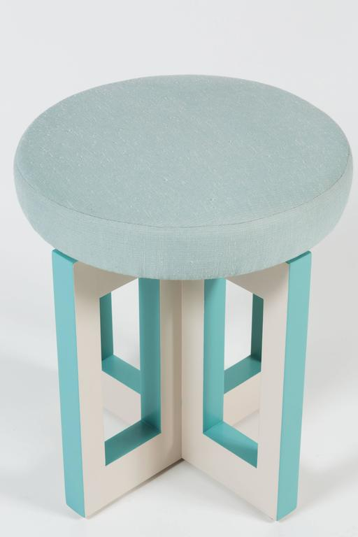 Portola Stool by Dragonette Private Label In Excellent Condition For Sale In Los Angeles, CA