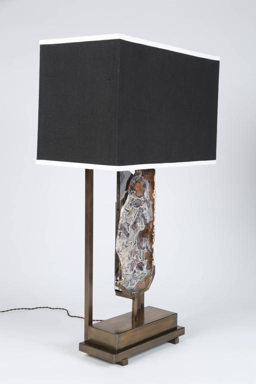 Pair Of Special Edition Pedra Table Lamps By Dragonette