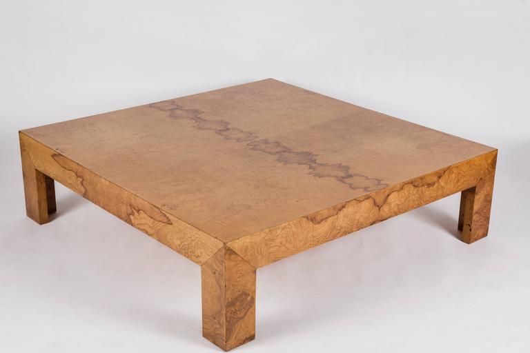 20th Century Large Cocktail Table Attributed to Milo Baughman For Sale