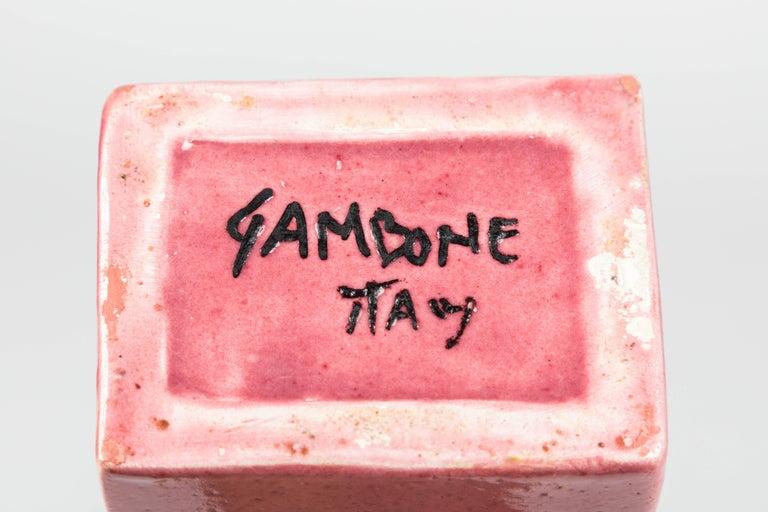 Bruno Gambone Glazed Ceramic Vase For Sale 2