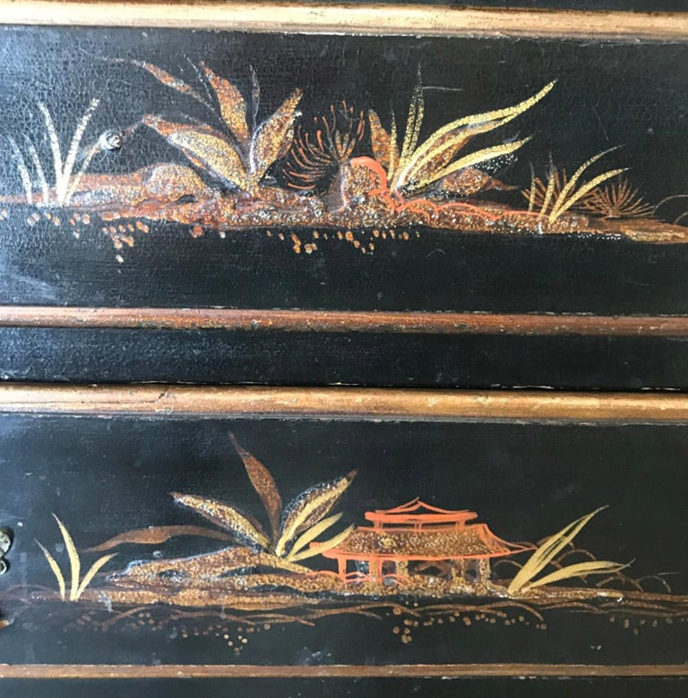 Chinoiserie Chest of Drawers For Sale 2