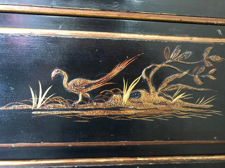 Chinoiserie Chest of Drawers For Sale 6