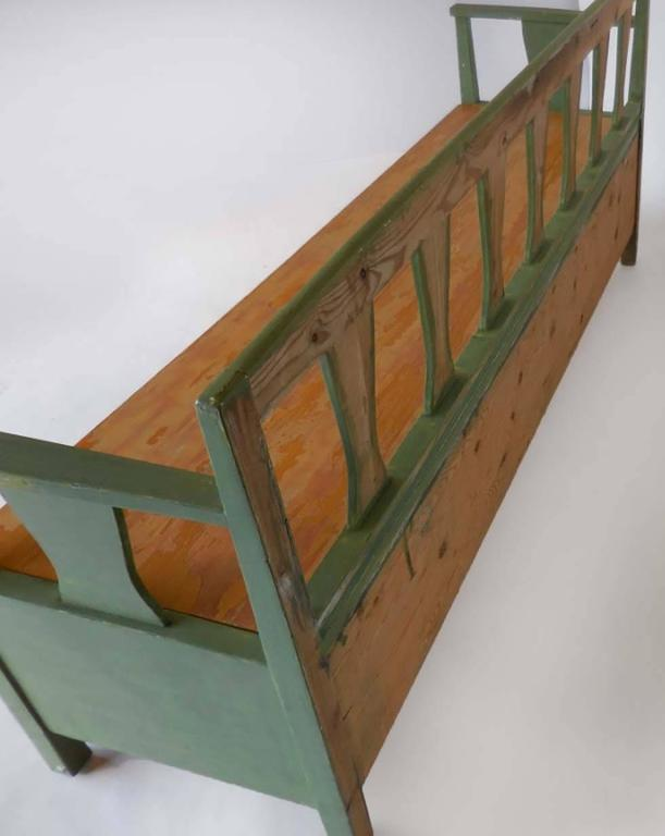 19th Century Swedish Painted Bench/Daybed 5