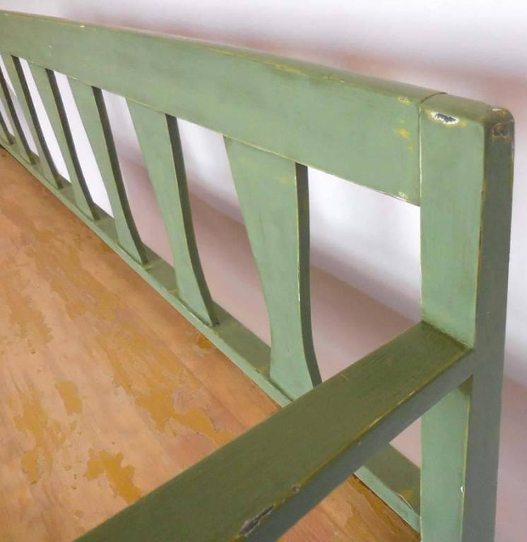19th Century Swedish Painted Bench/Daybed 6