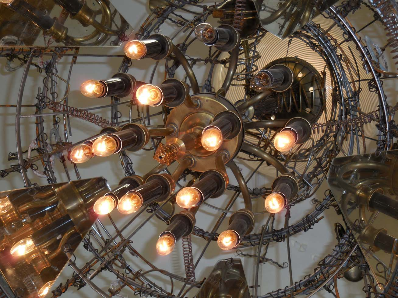 Whimsical steampunk chandelier for sale at 1stdibs arubaitofo Gallery