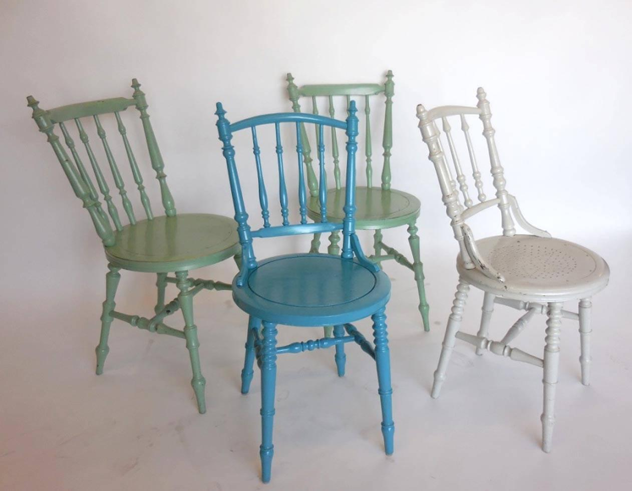 Painted Swedish Side Chairs For Sale At 1stdibs