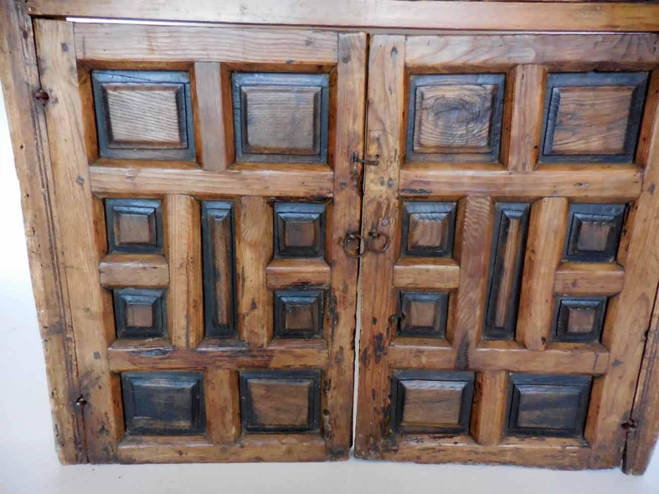18th century wooden window shutters with panels and turned for 18th century window