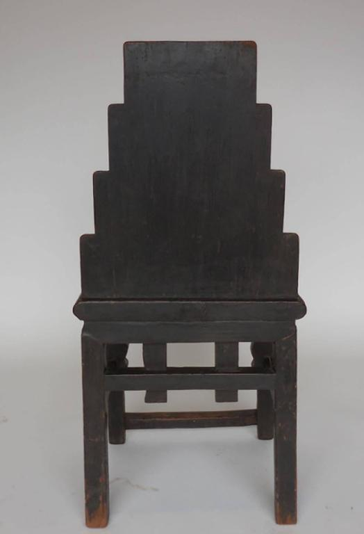 Qing 19th Century Chinese Chair For Sale