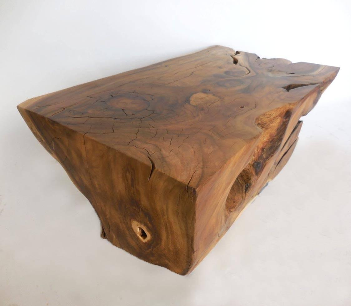 Root Coffee Table For Sale: Tropical Hardwood Root Coffee Table For Sale At 1stdibs