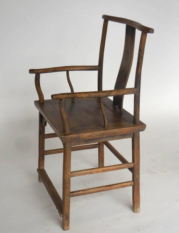 18th Century and Earlier 18th Century Qing Dynasty Chinese Woman and Man's Chairs For Sale